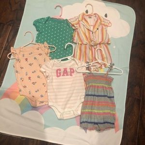 Lot of 5 Baby Gap Outfits